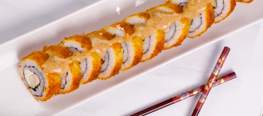 Sushi Empanizado