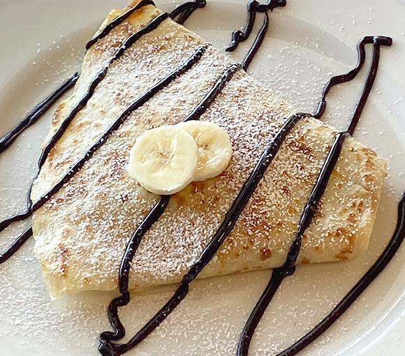 Crepas de Nutella y Plátano